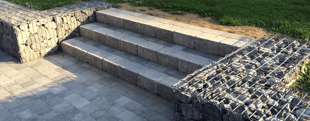 Escalier terrassement Thomas Calonne