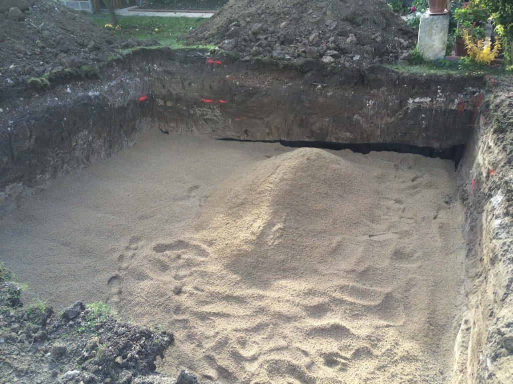 assainissement filtre sable